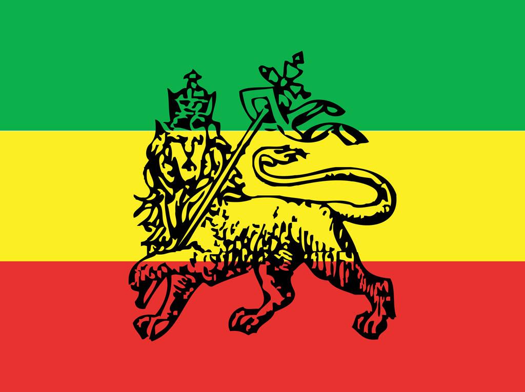 Flag of Ethiopia, 1974–1975. © Free Vector