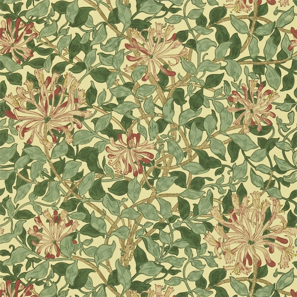 Honeysuckle, William Morris