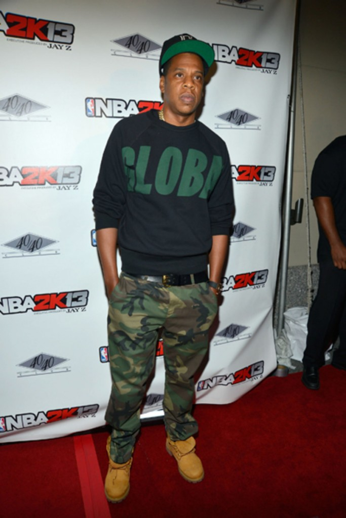 Jay-Z attends the 'NBA 2K13' Launch at the 40 / 40 Club in New York City, 2012. © Getty Images. Photo: Ben Gabbe.